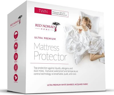 Red Nomad Mattress Protector